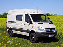 Reisemobil HRZ Sahara