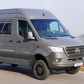 HRZ Reisemobil Freedom Allrad