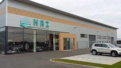 HRZ Reisemobile - Firmengebäude in Bretzfeld