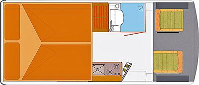 Grundriss: Reisemobil HRZ Mambo 02