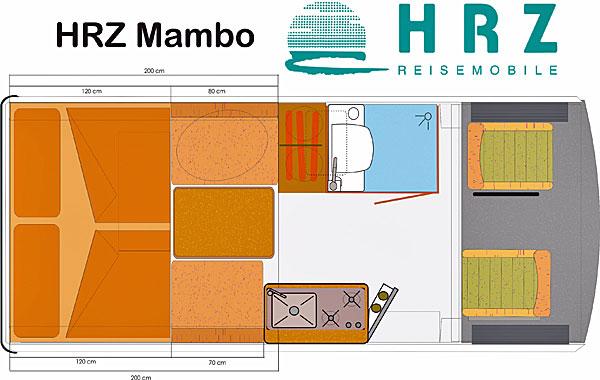 HRZ Mambo - Grundriss