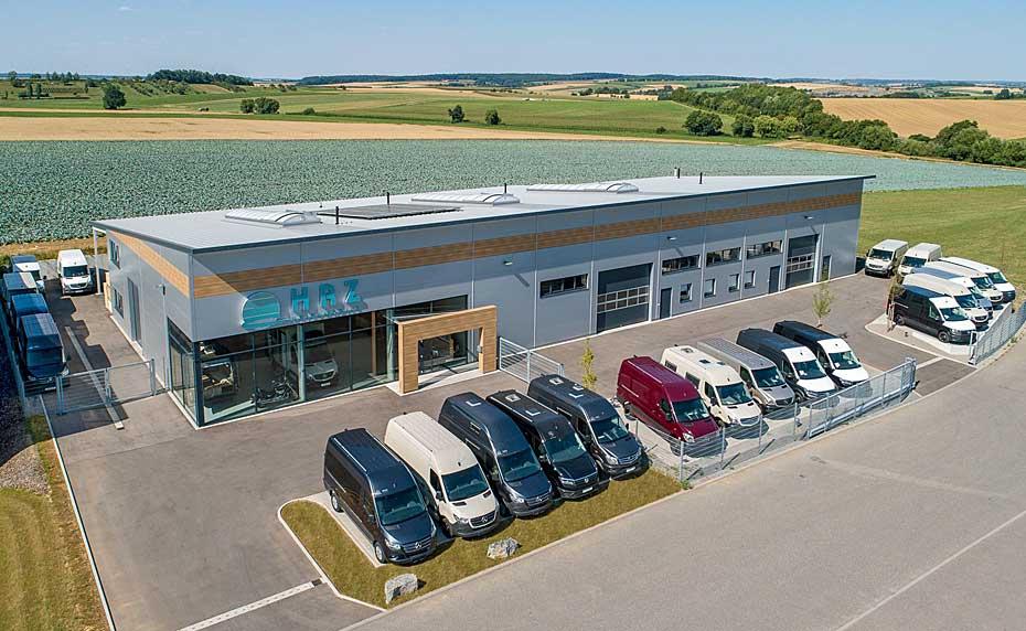 HRZ Reisemobile - Firmengebäude