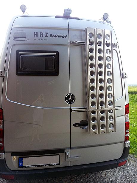 Reisemobil HRZ Beachbird - Heckansicht
